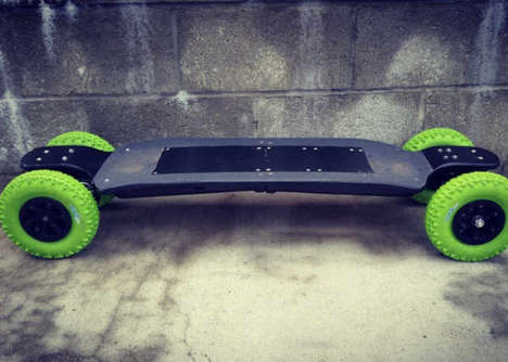 Balanced Electric Longboards - The CARVON Electric Longboards are Capable of Quick Speeds