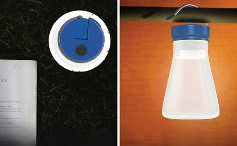 Seawater-Powered Lanterns - The 'Beacon' Camp Lanterns are Non-Polluting and Safe to Use