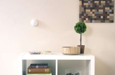 Wall-Mounted Portable Nightlights - The 'Little Star Light' Nightlight Goes with Kids Anywhere