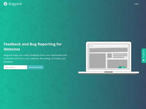 Website Feedback Solutions - 'Bugyard' Collects Feedback and Enables Bug Reporting