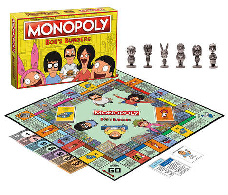 Cartoon-Themed Board Games - The Bob's Burgers Monopoly Special Edition Board Game is Loads of Fun