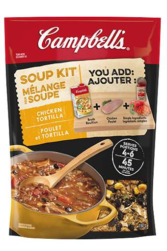 Customizable Soup Kits - The Campbell's Soup Kits Help Consumers Prepare Delicious Soup at Home