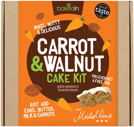 Nutritious Cake Kits - Bakedin's DIY Dessert Kit Makes Creating Healthy Treats an Easy Feat