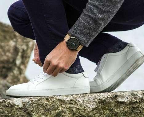 Contemporary Gunmetal Timepieces