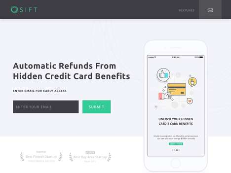 Credit Card Benefit Platforms - 'Sift' Lets Users Receive Hidden Credit Card Benefits Automatically