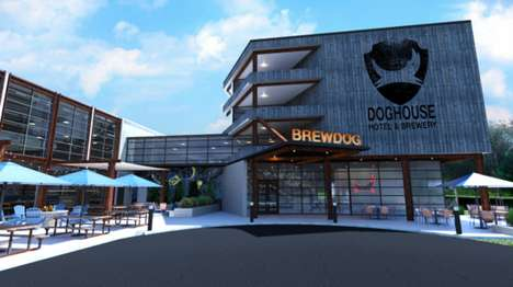 Craft Brewery Hotels - BrewDog is Crowdfunding for the World's First Craft Beer Hotel