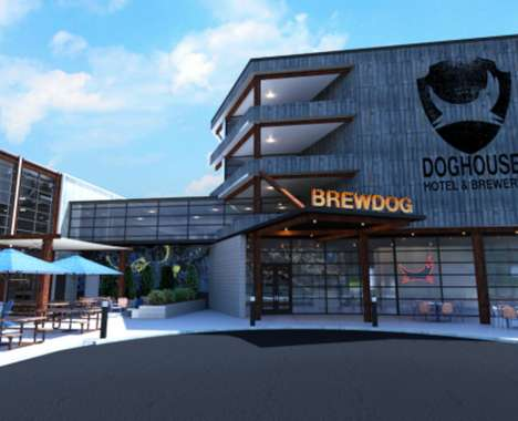 Craft Brewery Hotels