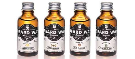 Vitamin-Enriched Beard Oils - The Beard Way Men's Beard Oil is Handcrafted in Slovenia