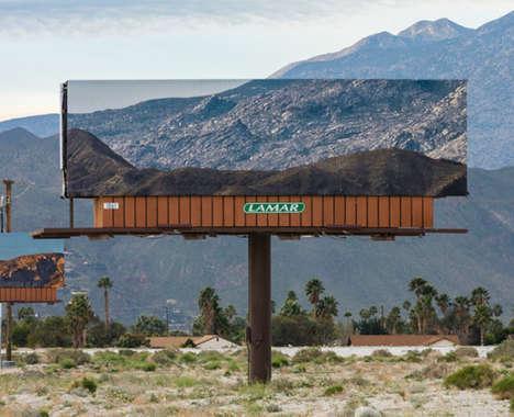 Landscape-Mimicking Billboards
