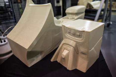 Large-Scale Automotive Printers - Ford is Testing a Large-Scale 3D Printing System for Parts