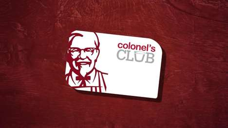 Fast Food Drink Promotions - KFC Rewarded Those Who Downloaded Its Colonel's Club App