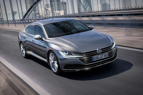Elegant Five-Seater Sedans - The Volkswagen Arteon Comes as the Brand's Latest Four-Door Flagship