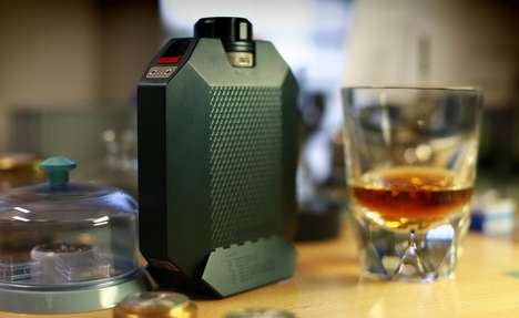 Collaboration Liquor Flasks - The Macallan x Urwerk Flask is Crafted with Swiss Precision