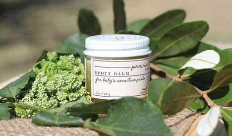 Calming Diaper Balms - Prarie Bloom's 'Booty Balm' Boasts a Soothing Blend of Ingredients