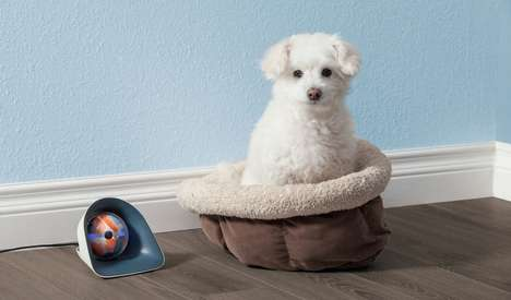 Interactive Robotic Pet Sitters - The 'Pebby' Entertains Your Pooch When You're Away