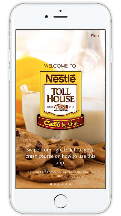 Cookie Cafe Loyalty Programs - The Nestlé Toll House Café App Allows Users to Earn Sweet Rewards