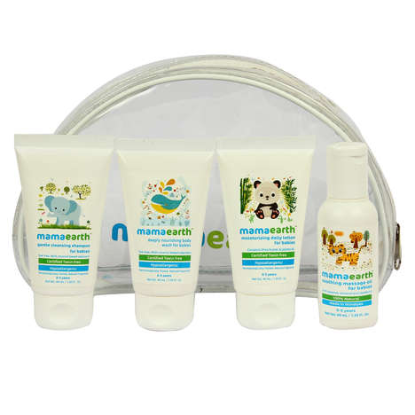 Eco-Friendly Baby Essentials - MamaEarth's Essentials Kit Boasts Organic and Chemical-Free Products