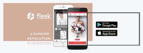 Fashion Inspiration Apps - The Fleek App Shows Users the Latest Fashions from Their Favorite Brands