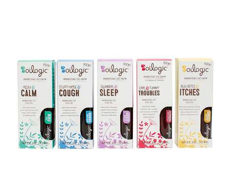 Baby-Friendly Aromatherapy Oils - Oilogic's Essential Oils Promote Sleep, Serenity and Good Health