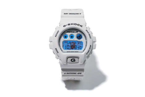 Co-Branded Streetwear Watches - These Rugged New G-SHOCK Watches Were Made with BAPE