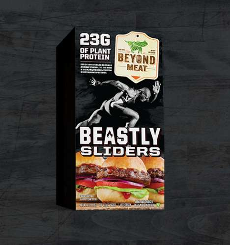 Hearty Meatless Sliders - Beyond Meat's Beastly Sliders Introduce the Beast Burger in a Smaller Size