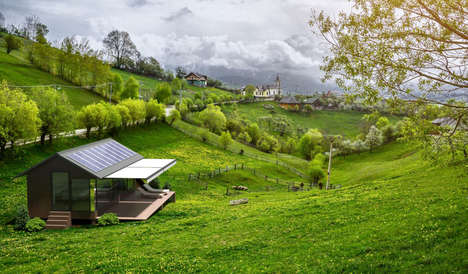 Portable Self-Sufficient Homes - This Sustainable and Autonomous House is Solely Run on Solar Power