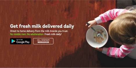 Digitized Milk Delivery Startups - Supr Daily is Changing How the Delivery of Milk Works in Mumbai