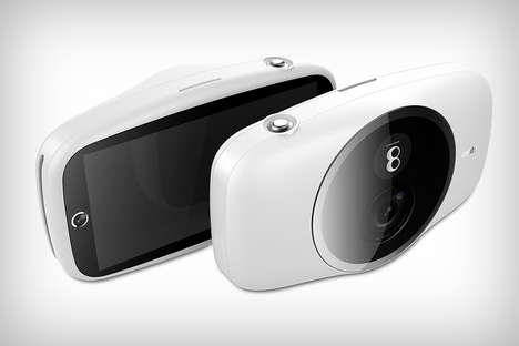 Multi-Copy Picture Cameras - The 'Halo' Printer Camera Offers Digital and Physical Copies
