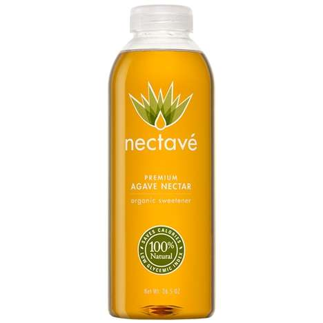 Agave Nectar Sweeteners - Nectave's Premium and Natural Nectar is a Healthy Sugar Alternatvie