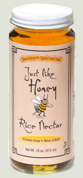 Gluten-Free Rice Nectars - Suzanne's Specialties' Rice Nectar is an All-Natural Sweetener