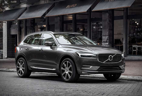 Semiautonomous CUVs - The 2017 Volvo XC60 Features Similar Engine Power to the XC90