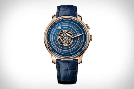 Solar System-Inspired Timepieces - The Graham Geo.Graham Orrery Tourbillon Watches are Opulent
