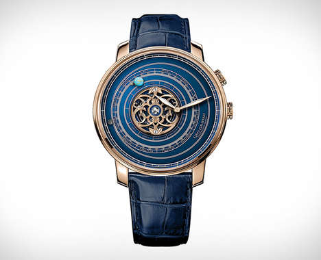 Solar System-Inspired Timepieces