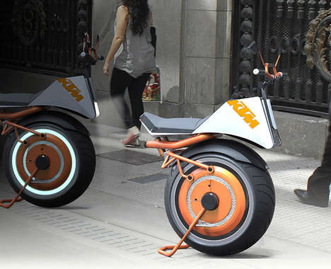 Gyroscopic Electric Unicycles