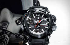 Analog GPS Timepieces - The G-Shock Gravitymaster GPW-2000 Offers Connected Functions