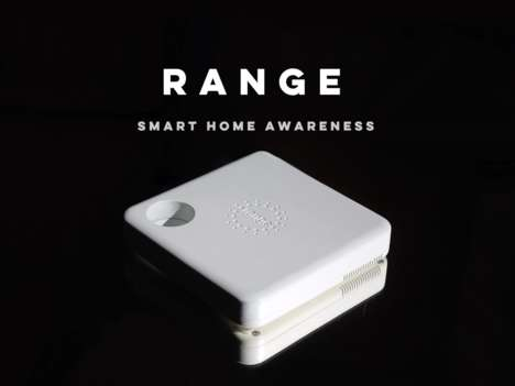 Smartphone-Tracking Home Hubs - The 'Range' Smart Home Hubs Let You Know Who's in the House