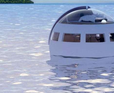 Floating Hotel Sleeping Capsules