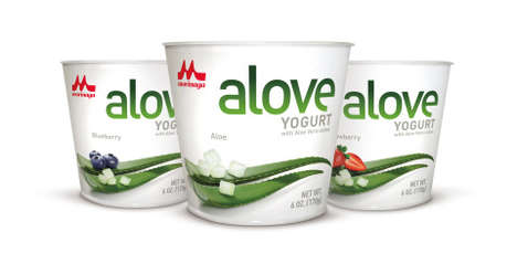 Aloe Vera Yogurts - 'ALOVE' is Introducing Japanese-Style Aloe Vera Yogurt to the USA