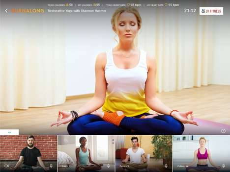 Online Group Fitness Platforms - BurnAlong Lets Users Watch Fitness Videos with Others in Real Time