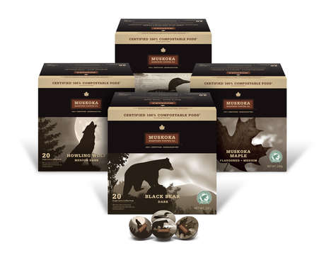 Completely Compostable Coffee Pods - Muskoka Roastery's Coffee Pods Completely Biodegrade in 84 Days