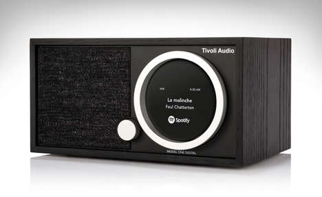 Modern WiFi Radio Speakers - The Tivoli Model One Digital FM Radio Speaker is Future-Ready