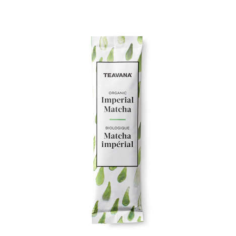 Single-Serve Matcha Packets - Teavana's Organic Imperial Matcha Singles are Made for Easy Brewing