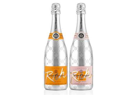 Luxuriously Mixed Wines - The Veuve Clicquot Rich Introduces Notes of Fruits and Vegetables
