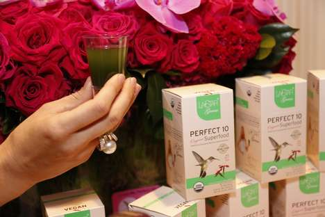 Single-Serve Superfood Beverages - 'Perfect 10 Organic Superfood' is a Nutrient-Rich Drink Option