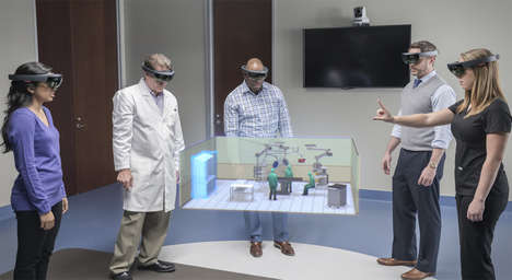Holographic Hospital Design - This Operating Room Design Software Uses Augmented Reality Holograms