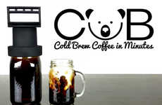 Expedited Cold Brew Systems - The 'CUB' Can Make Cold Brew Coffee in Just 15 Minutes