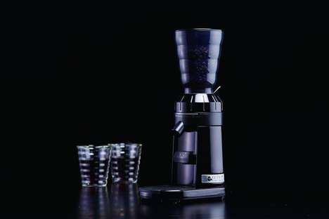 Precision Coffee Bean Grinders - The Hario V60 Electric Coffee Bean Grinder Has Over 50 Settings