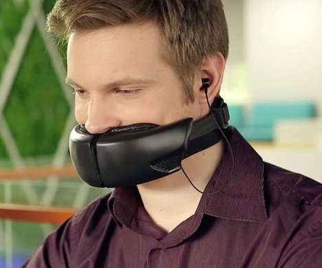 Voice-Muffling Face Masks - The 'Hushme' Voice Mask Allows for Private Calls in Open Spaces