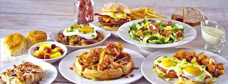 All-Day Brunch Menus - Bob Evans is Now Serving Brunch Dishes All Day Long