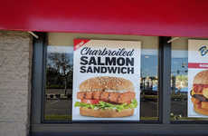 Carl's Jr. is Serving Up a New Charbroiled Salmon Sandwich for Lent